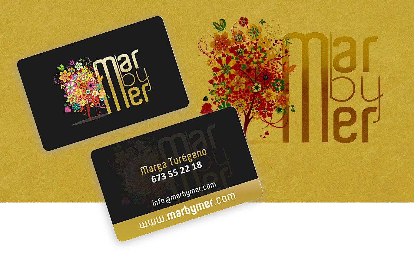 Impresión de tarjetas PVC, Tarjetas PVC tarjetas fidelización Marbymer