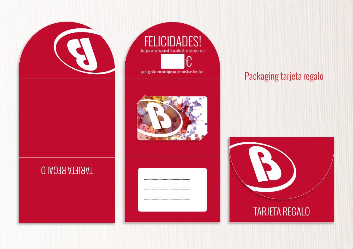 Impresión packaging para tarjetas PVC - Deportes Blanes