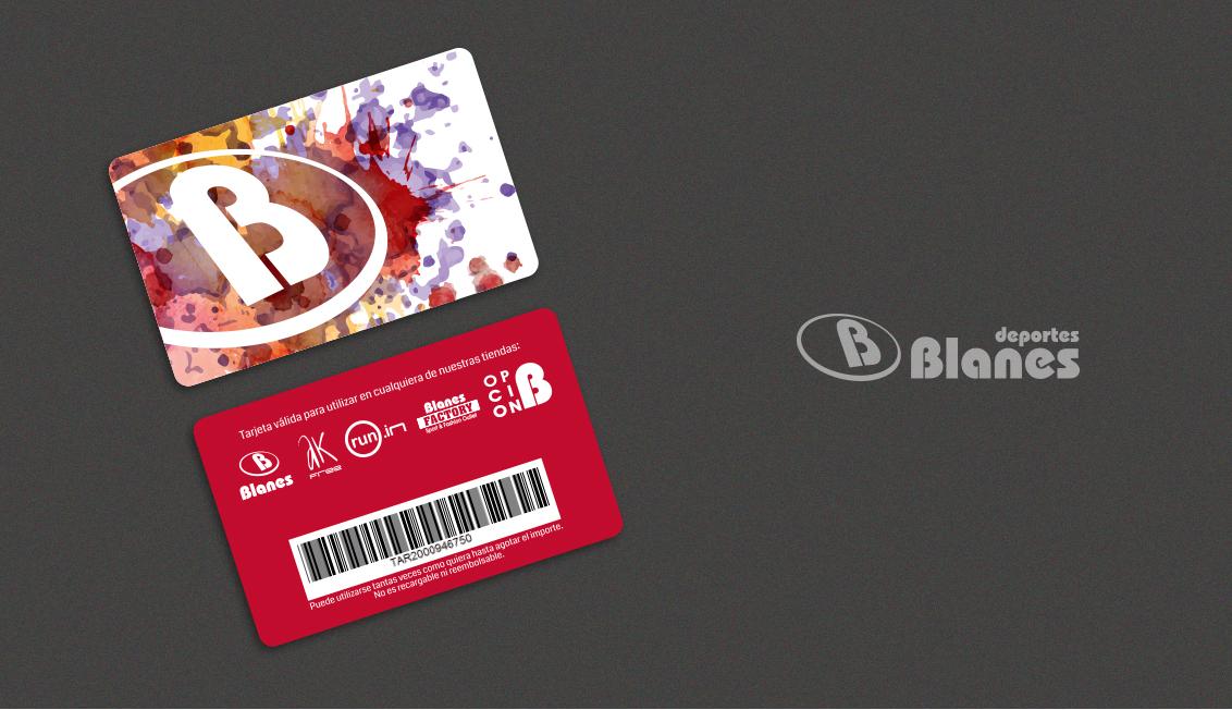 Impresión de tarjetas PVC para Deportes Blanes