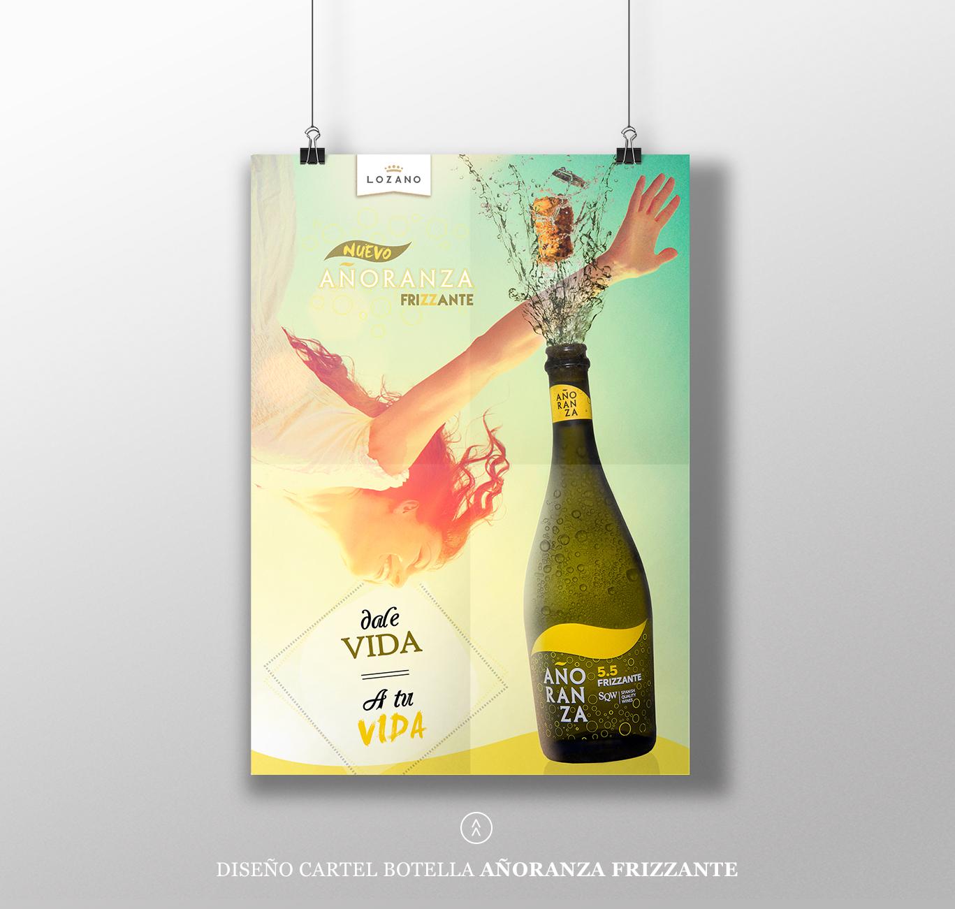 Diseño gráfico, Diseño gráfico Albacete, bodegas Lozano, diseño gráfico Madrid.