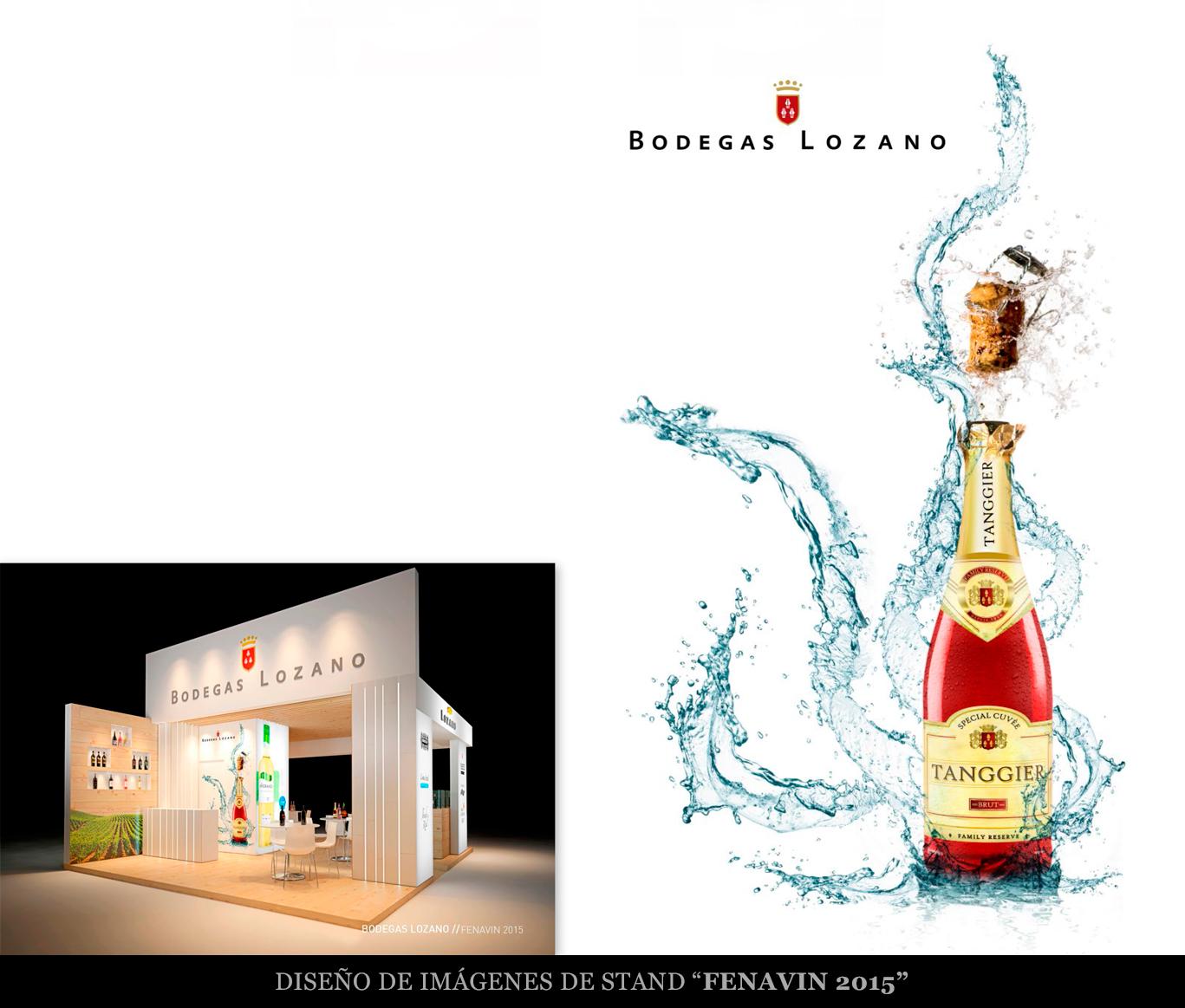 Diseño gráfico, bodegas Lozano, diseño gráfico Villarrobledo.