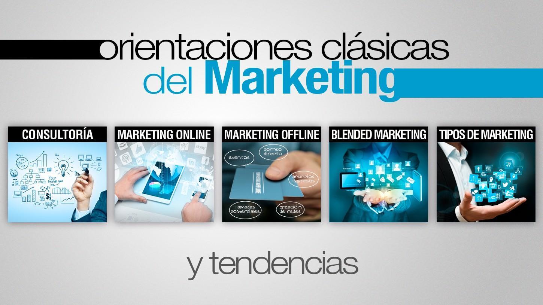 Marketing, orientaciones clásicas y marketing online