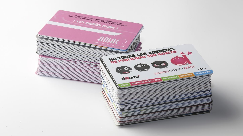 Tarjetas PVC, la revolución de las tarjetas plasticas