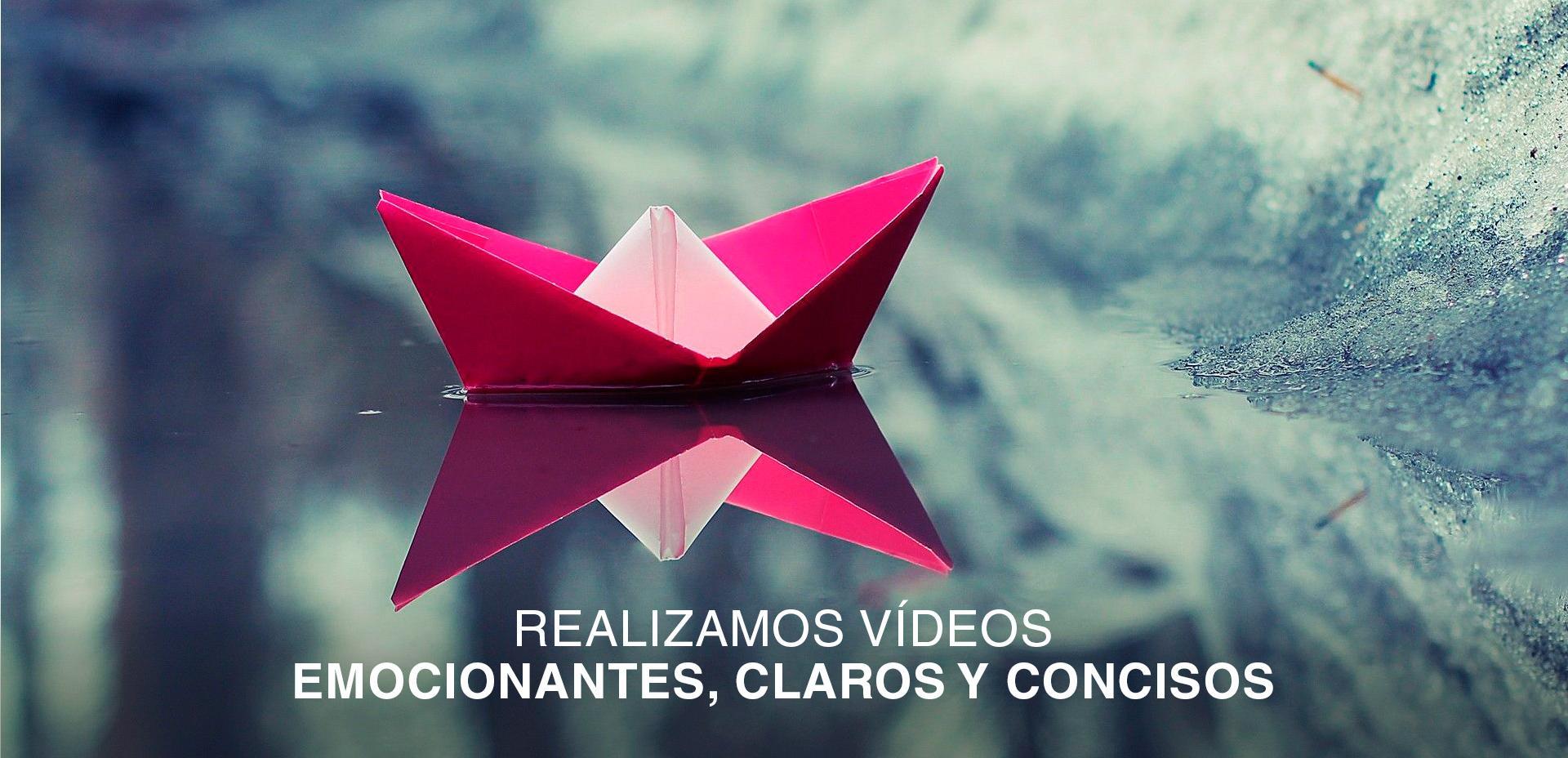Realizamos vídeos emocionantes, claros y concisos