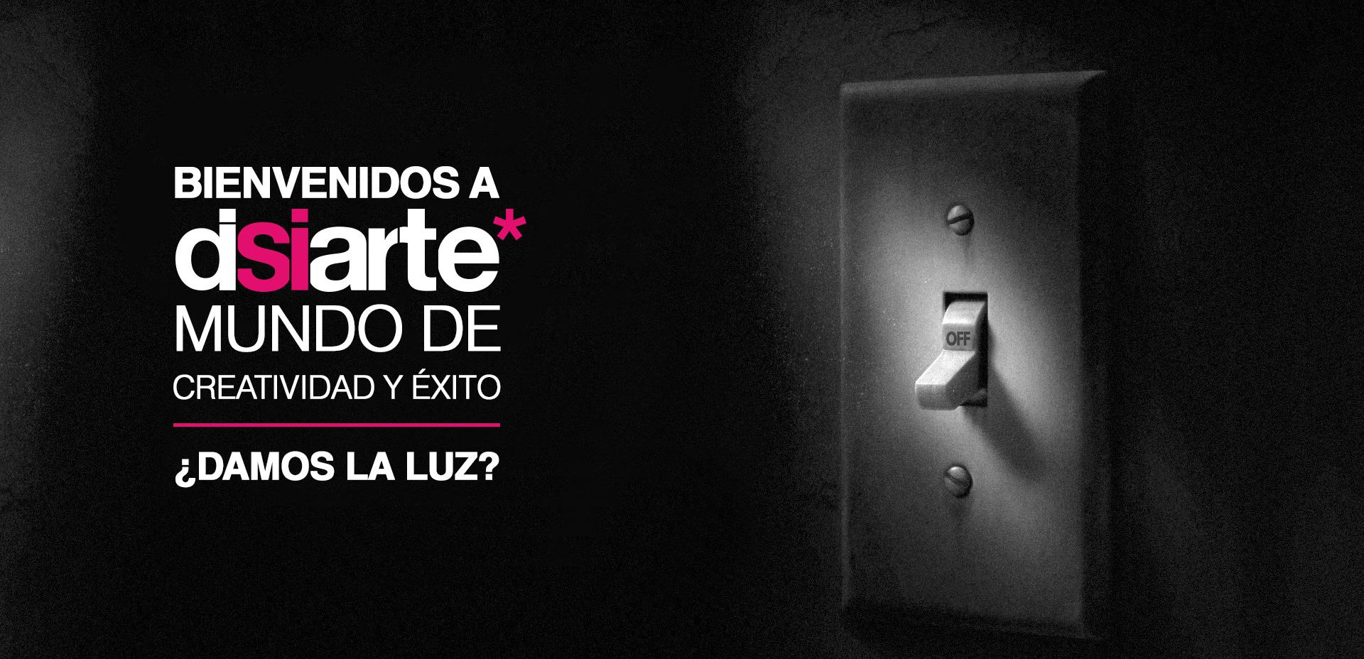 Agencias de publicidad Albacete. Bienvenidos a Disiarte Agencia de publicidad y mundo de creatividad y éxito ¿Damos la luz?