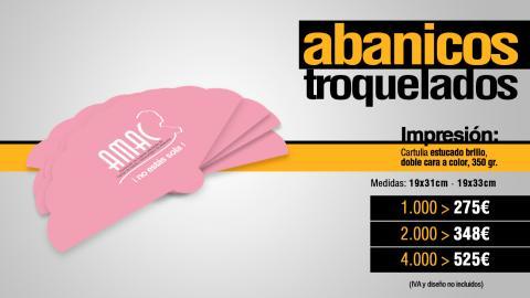 Abanicos publicitarios baratos, regalos publicitarios Albacete para empresas
