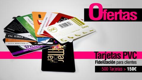 Ofertas tarjetas de fidelización, ofertas de tarjetas plásticas y ofertas de tarjetas de PVC
