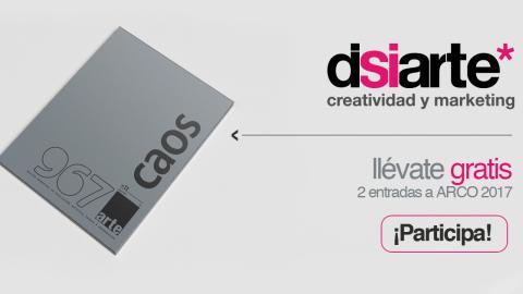 Disiarte - Creatividad y Marketing, Sorteo 2 entradas para Arco 2017