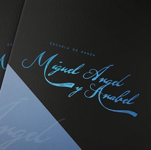 Diseño Gráfico, Branding y merchandising Miguel Ángel y Anabel
