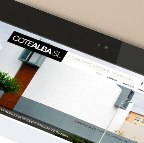 Diseño web para empresa de Albacete Cotealba