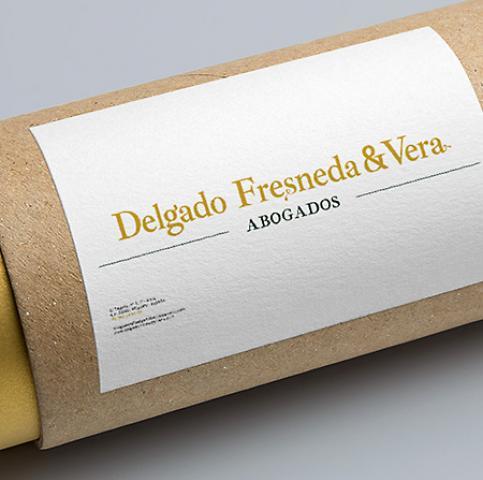 Diseño gráfico, branding y diseño web para Delgado Fresneda & Vera Abogados