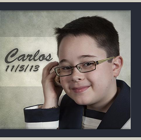 Comunión Carlos