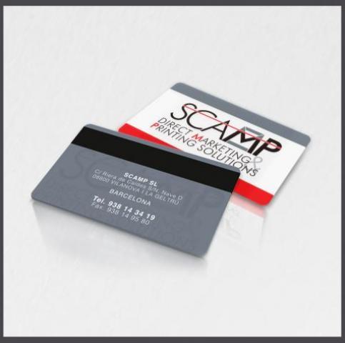 Tarjetas con banda magnética, tarjetas plásticas con banda magnética, tarjetas con banda magnética loco
