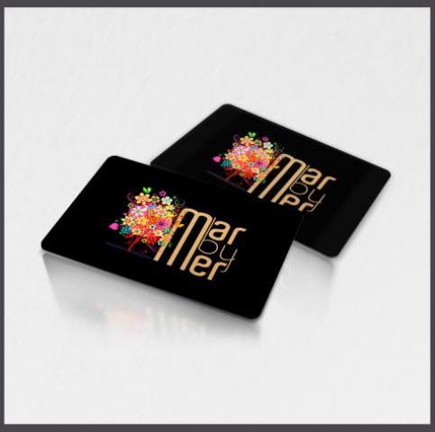 Tarjetas con estamping oro, tarjetas plásticas estamping oro o plata