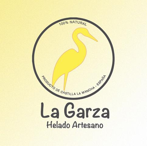 Diseño web y diseño gráfico de carpetas y fichas producto. Diseño y programación de página web para La Garza Helados Artesanos