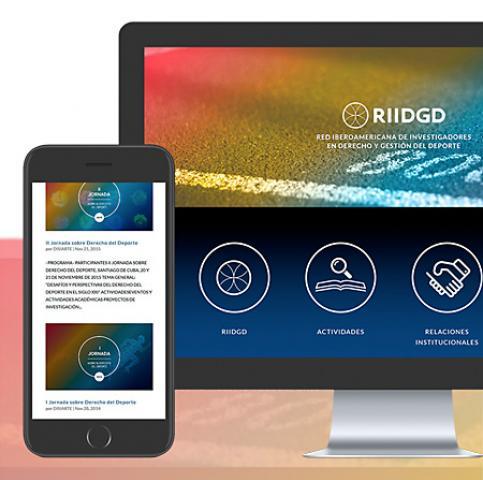 Identidad Corporativa, diseño web y programación RIIDGD