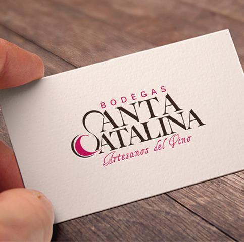 Diseño gráfico, branding, Bodegas Santa Catalina - Artesanos del vino