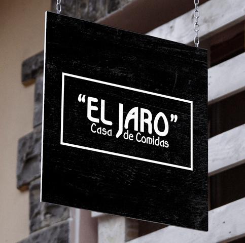 Diseño web y diseño gráfico de tarjetas de visita y cartas para restaurante. Diseño y programación de página web para Casa de comidas El Jaro