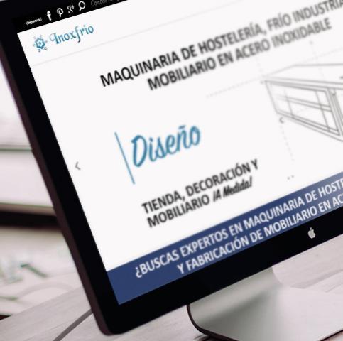 Diseño tienda online premium y posicionamiento web para empresa Inoxfrio