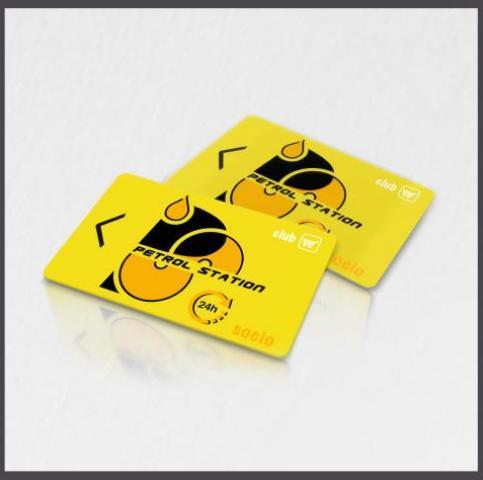 tarjetas plásticas de socio